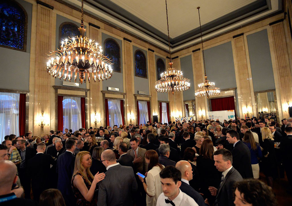 Gala reception at the Old Palace